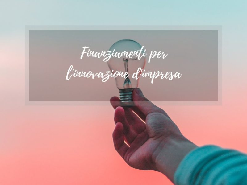 innovazione d'impresa