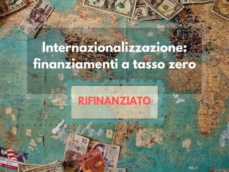 Bando Linea Internazionalizzazione