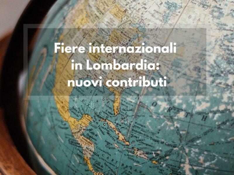 fiere internazionali contributi